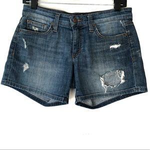 Joe's Jeans Distressed Shorts